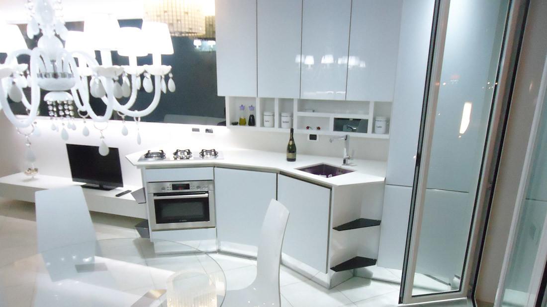 Appartamento a Riccione arredato da Sar Seveso - Cucina arredata