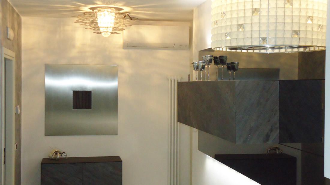 Appartamento a Riccione arredato da Sar Seveso - Soggiorno