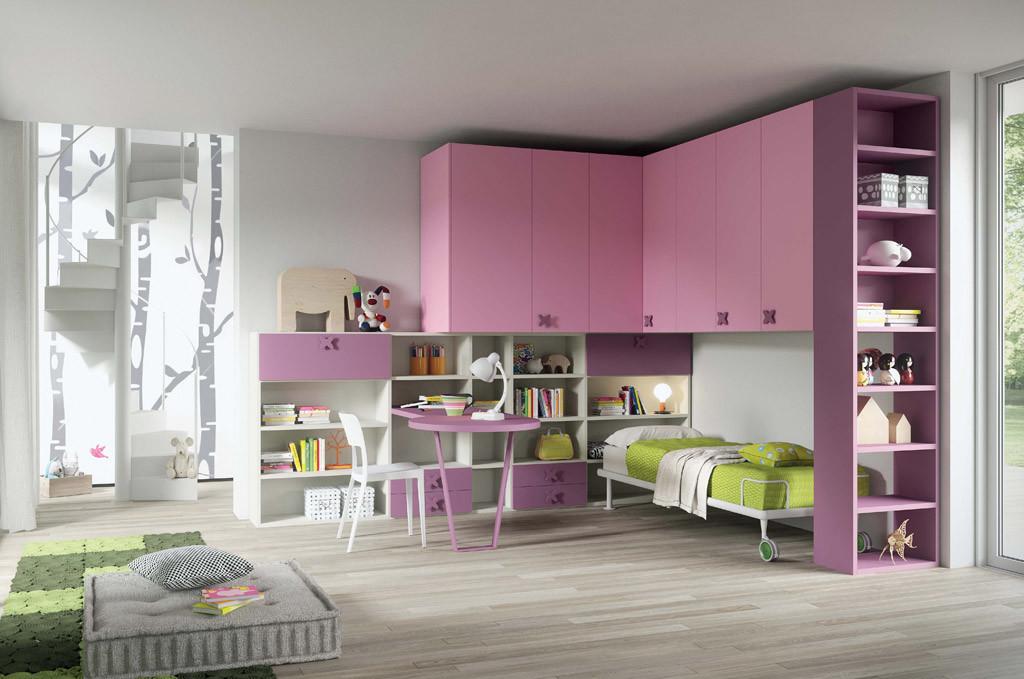 Cameretta colore rosa