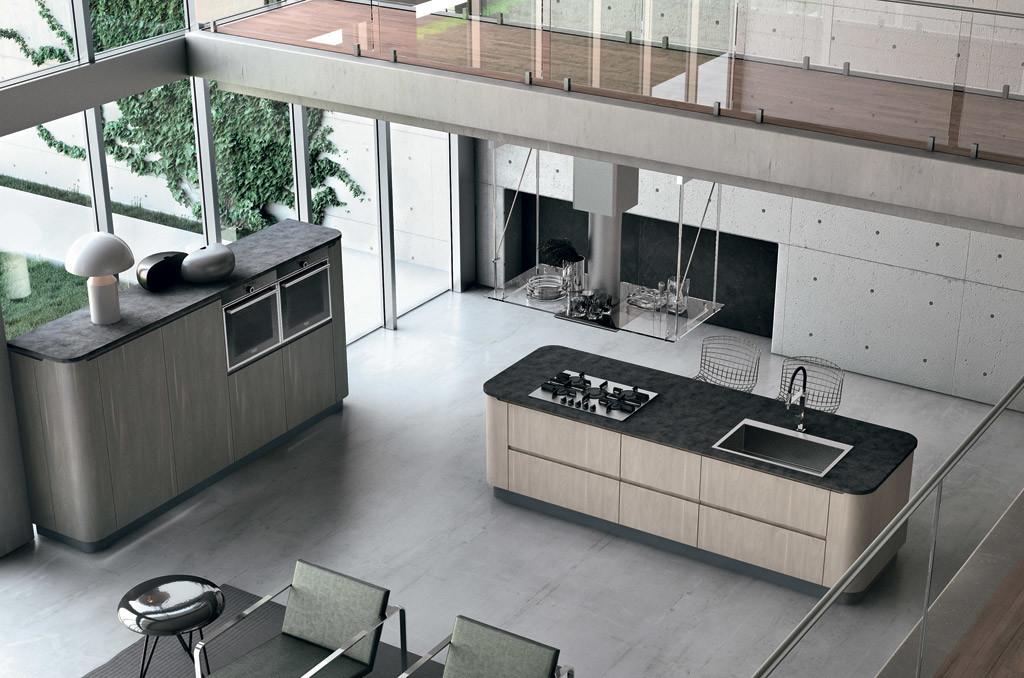 Arredamenti cucine open space Sar Seveso