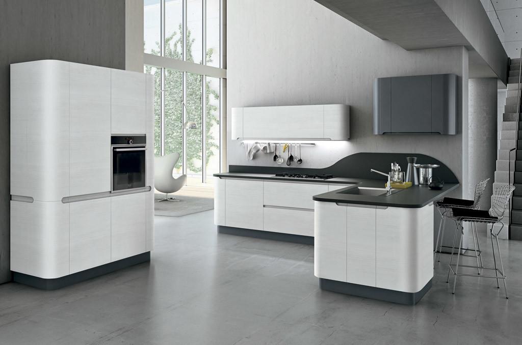 Arredamenti cucine Sar Seveso - Colore bianco laccato